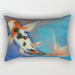 Sanke Butterfly Koi Rectangular Pillow