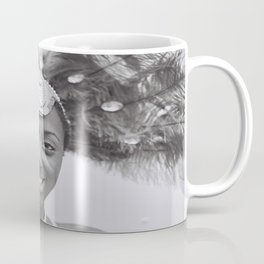 Black and White Photograph Toronto Canada Caribana Street Festival Coffee Mug