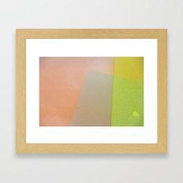 WET COLORS 1 Framed Art Print
