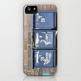 Mailboxes iPhone Case