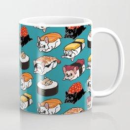 Sushi Frenchie Coffee Mug