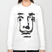 dali Long Sleeve T-shirts featuring I am drugs ( Salvador Dali ) by Black Neon