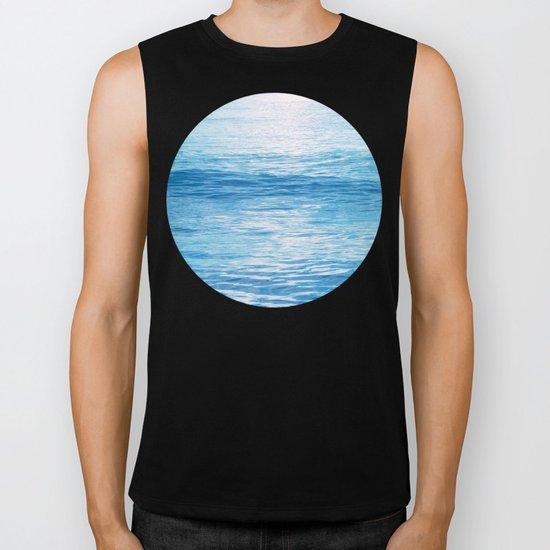 Cerulean Sea Biker Tank