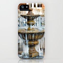 Frozen Fountain iPhone Case