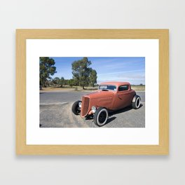 Outback Ford Framed Art Print