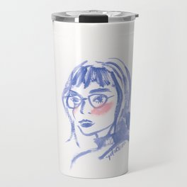 A Geek Girl Travel Mug