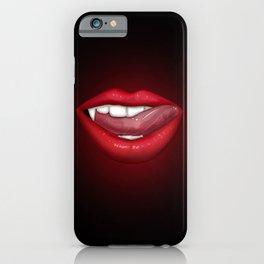 Vampire Lips iPhone Case