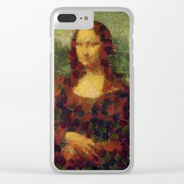 Mona Lettuce  Fine Art Parody Clear iPhone Case