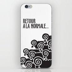 Retour à la normale iPhone & iPod Skin