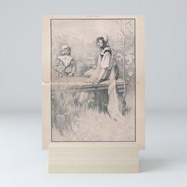 Henry James' The Turn of the Screw (1898) - On the Stone Slab Mini Art Print