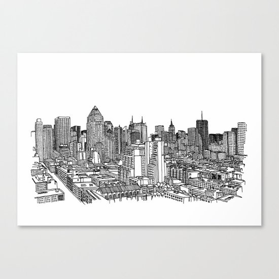 New York View 2 Canvas Print