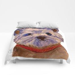 West highland terrier Westie dog love Comforters