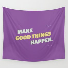 Make It Happen Wall Tapestry