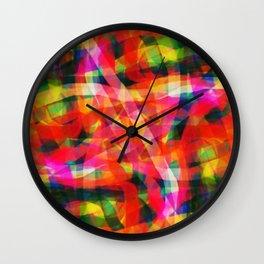 Abstract XXXIII Wall Clock