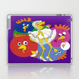 Marilyn Chicken Laptop & iPad Skin