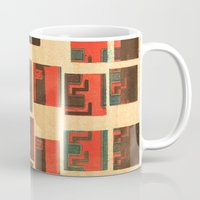 coffe Mugs featuring Coffe - Vintage Drink by Fernando Vieira