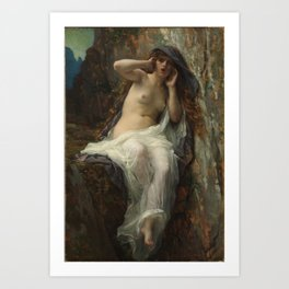 The Nymph Echo by Alexandre Cabanel Art Print