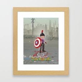 Put on the Armor Framed Art Print