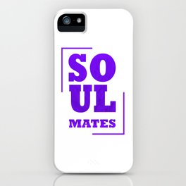 Show your endless infinite love Soulmate T-Shirt Soulmates iPhone Case