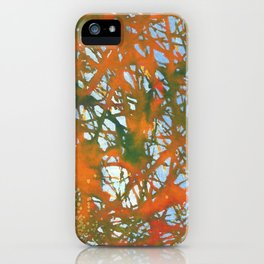 Tangled Fall iPhone Case
