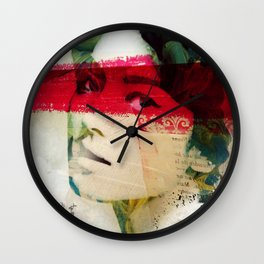 Saigon Sally Wall Clock
