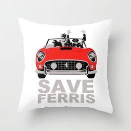 Save Ferris Throw Pillow