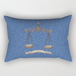 Vintage Astrology - Libra Rectangular Pillow