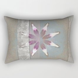 Turk In The Altogether Flowers  ID:16165-065856-95341 Rectangular Pillow