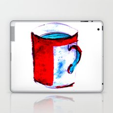 big coffee cup Laptop & iPad Skin