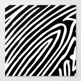 Zebra Party Canvas Print