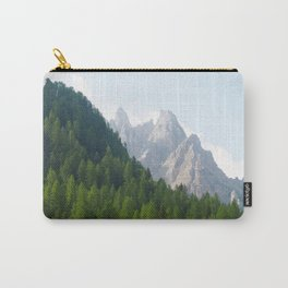Forest Pines and Mountain Spikes Carry-All Pouch