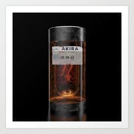 Akira - Optic Nerve Jar Art Print