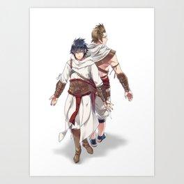 Assassin's Festival Art Print