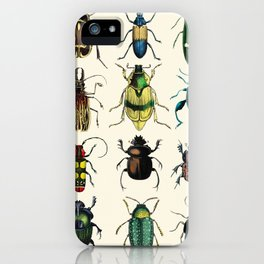 Jeweled Beetles  iPhone Case