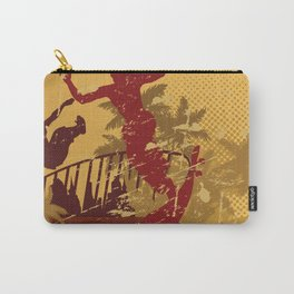 Skateboard Summer Carry-All Pouch