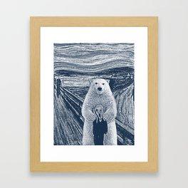 bear factor Framed Art Print