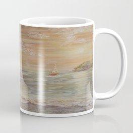 Acrylic textured Painting Coffee Mug