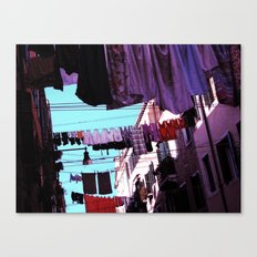Hanging Laundry pt1 Canvas Print