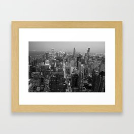 Chi-town - Chicago Framed Art Print