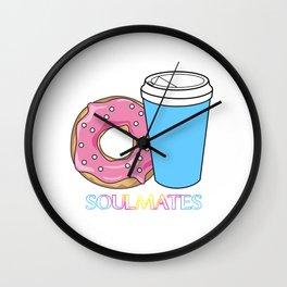 Soulmates-Coffee Wall Clock