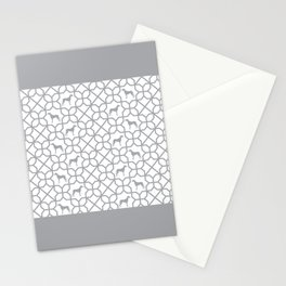 GREY WEIMARANER Stationery Cards
