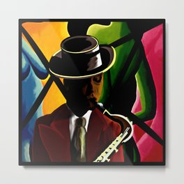 Player With Candy Dancers Metal Print