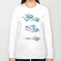 iwatobi Long Sleeve T-shirts featuring Missed the Boat by Alyssa Tye