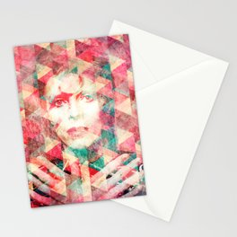 Bowie abstraction Stationery Cards