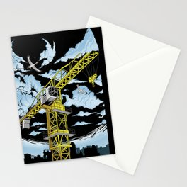 Tower Crane In The SKY Stationery Cards