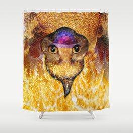 Galantis Gold Shower Curtain