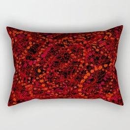 storm of ovals Rectangular Pillow