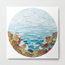Pacific Shore No. 2 Metal Print
