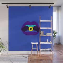 Yellow Candy Wall Mural