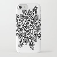 zentangle iPhone & iPod Cases featuring Zentangle by Cady Bogart